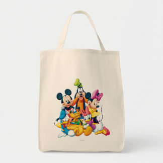 Mickey y amigos el   cinco fabulosos bolsa tela para la compra