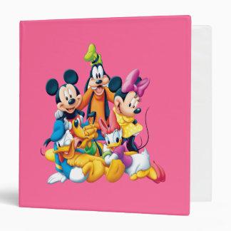 """Mickey y amigos el   cinco fabulosos carpeta 1 1/2"""""""
