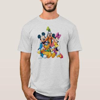 Mickey y amigos el | cinco fabulosos playera