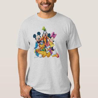 Mickey y amigos el | cinco fabulosos playeras