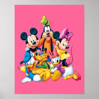 Mickey y amigos el | cinco fabulosos póster