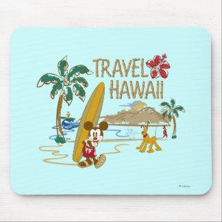 Mickey y amigos el | Hawaii Alfombrillas De Ratón
