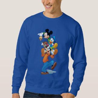 Mickey y amigos el | Mickey que adorna el árbol Sudadera