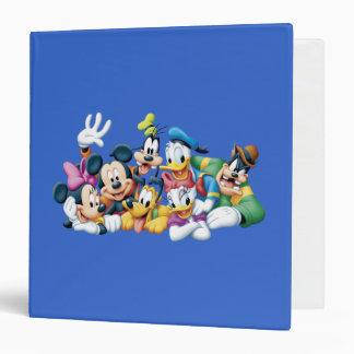 """Mickey y amigos el   que se arrodilla carpeta 1 1/2"""""""