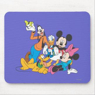 Mickey y amigos el | que se inclina alfombrillas de ratones