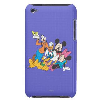 Mickey y amigos el | que se inclina iPod touch protector