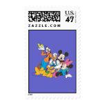 Mickey y amigos el | que se inclina sellos postales