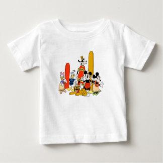 Mickey y amigos en la playa poleras