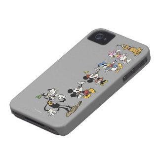 Mickey y amigos Case-Mate iPhone 4 protector
