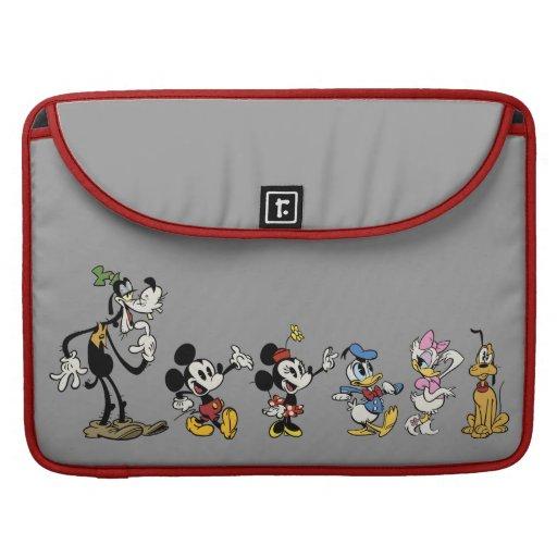 Mickey y amigos funda para macbooks