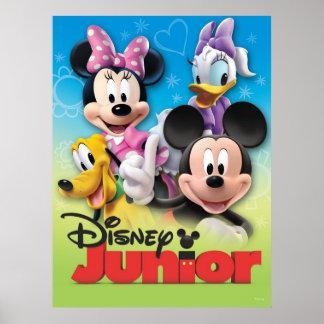 Mickey y amigos: Joven de Disney Póster
