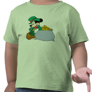 Mickey y la mina de oro camisetas