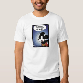 Mickey y los amigos Mickey usted no es Boss de MÍ Camisas