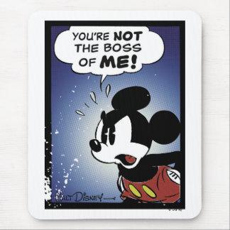 Mickey y los amigos Mickey usted no es Boss de MÍ Tapete De Ratones