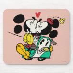 Mickey y Minnie 1 Tapetes De Ratón