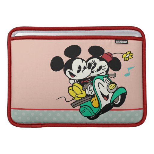 Mickey y Minnie 2 Fundas MacBook
