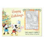 Mickey y Minnie clásicos: Buenas fiestas tarjeta Invitación 12,7 X 17,8 Cm