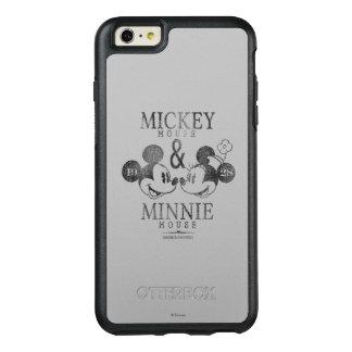 Mickey y Minnie el   Est. 1928 Funda Otterbox Para iPhone 6/6s Plus