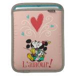 ¡Mickey y Minnie L'amour! Fundas Para iPads