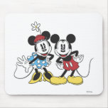 Mickey y Minnie Mouse Tapete De Ratones