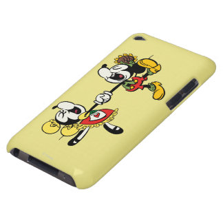 Mickey y Minnie que llevan a cabo las manos iPod Touch Fundas