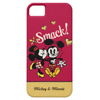 Mickey y Minnie - tortazo iPhone 5 Case-Mate Protectores