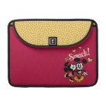 Mickey y Minnie - tortazo Funda Para Macbooks