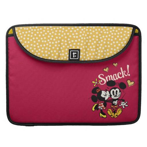 Mickey y Minnie - tortazo Fundas Macbook Pro
