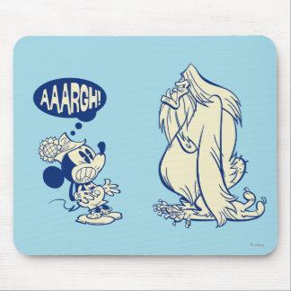 ¡Mickey y Yeti - Aaargh! Alfombrillas De Ratones