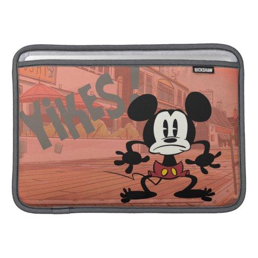 ¡Mickey - Yikes! Funda Para Macbook Air