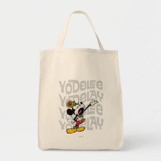 Mickey - Yodelee Yodelay Bolsa Tela Para La Compra