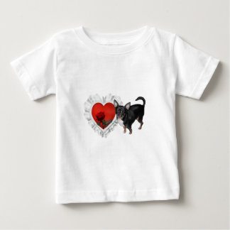 MickeyElvis Chihuahua 1 Baby T-Shirt