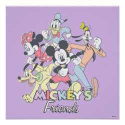 Mickey's Friends Poster