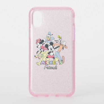 Mickey's Friends Speck iPhone XS Case