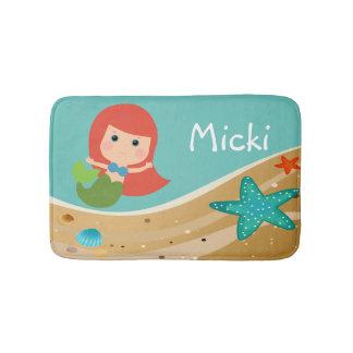 Micki Mermaid Bath Mat