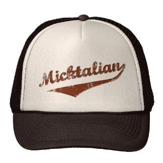 Micktalian Vintage Funny Irish Italian Hat