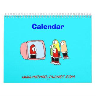 micmac planet Calendar