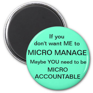 Micro Accountable Refrigerator Magnets