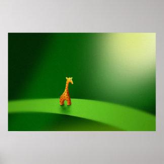 Micro Animals - Giraffe Print