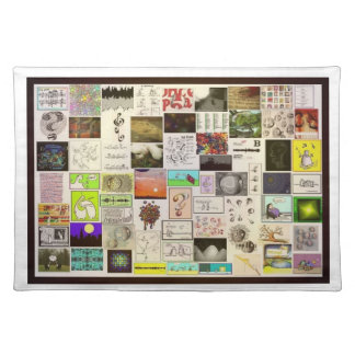 Micro- Art Gallery Placemat Cloth Placemat
