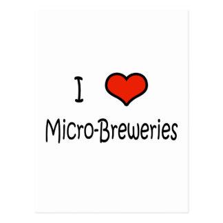 Micro-Breweries Postcard