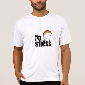 Micro Fiber Sports Tee. Paragliding - No Stress T-Shirt