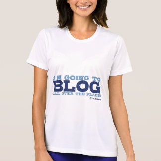 Micro-Fiber T's (Blog All Over) T-Shirt