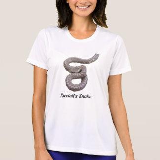 Micro-Fibra T de las señoras de la serpiente de Camiseta