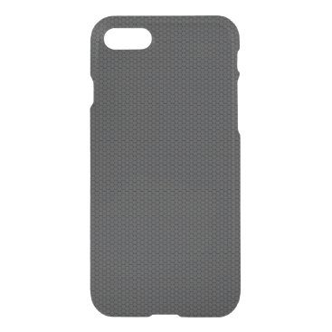Beach Themed Micro Hexagonal Honeycomb Carbon Fiber iPhone 7 Case