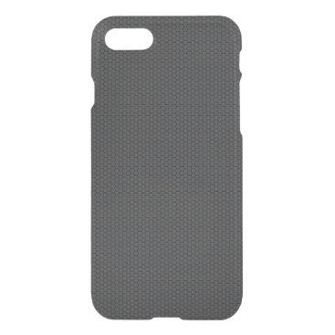 McTiffany Tiffany Aqua Micro Hexagonal Honeycomb Carbon Fiber iPhone 8/7 Case