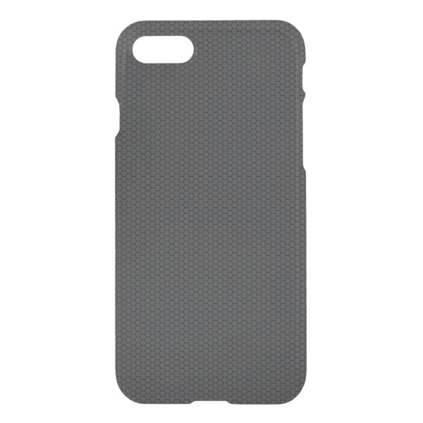 Micro Hexagonal Honeycomb Carbon Fiber iPhone 8/7 Case