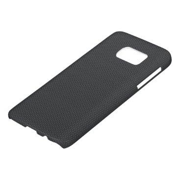 Beach Themed Micro Hexagonal Honeycomb Carbon Fiber Samsung Galaxy S7 Case