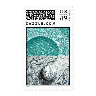 Micro-macro Timbres Postales
