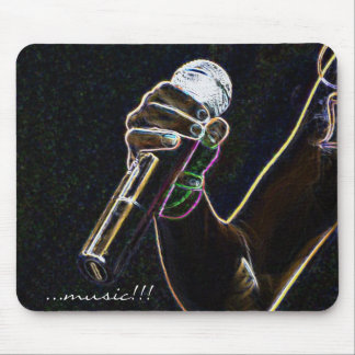 micro microphone music singer song mousepad